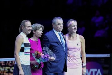 Санкт-Петербург: Организаторам St. Petersburg Ladies Trophy вручили награду WTA