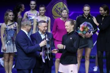 Санкт-Петербург: Теннисный турнир St. Petersburg Ladies Trophy стартует на «Сибур-арене»