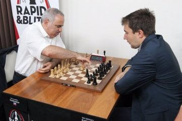 Москва: Карякин идет 3-м после первого дня по блицу на турнире Grand Chess Tour в Сент-Луисе