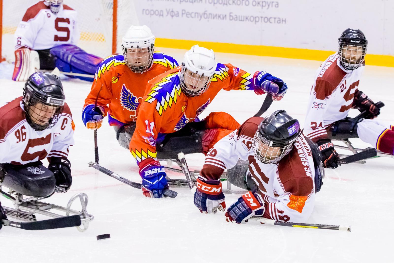 ВУфе закончился Кубок материка последж-хоккею