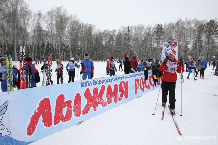 На «Лыжне России-2017» вКалуге ожидают около 4,5 тыс. участников