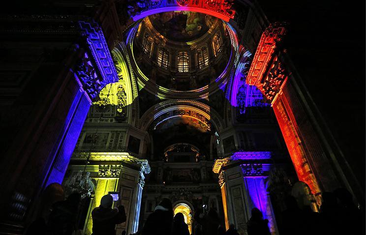 Музыкально-световой спектакль покажут вИсаакиевском соборе