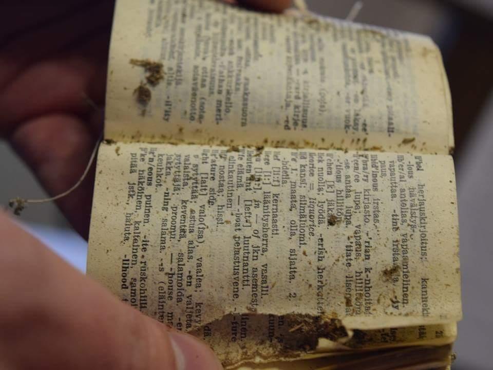 ВЧасовой башне Выборга отыскали военные артефакты