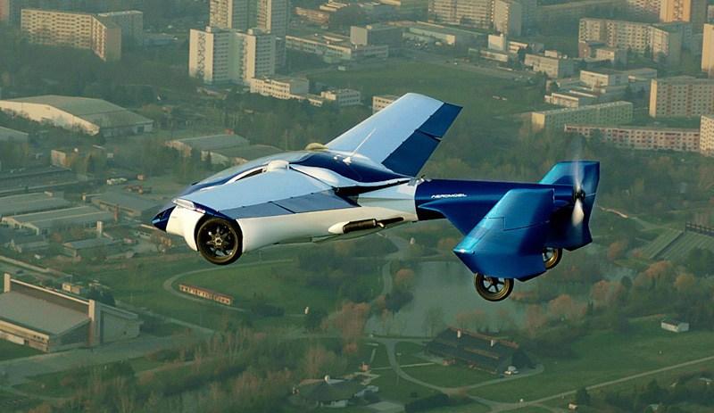 ВМонако презентовали летающий автомобиль