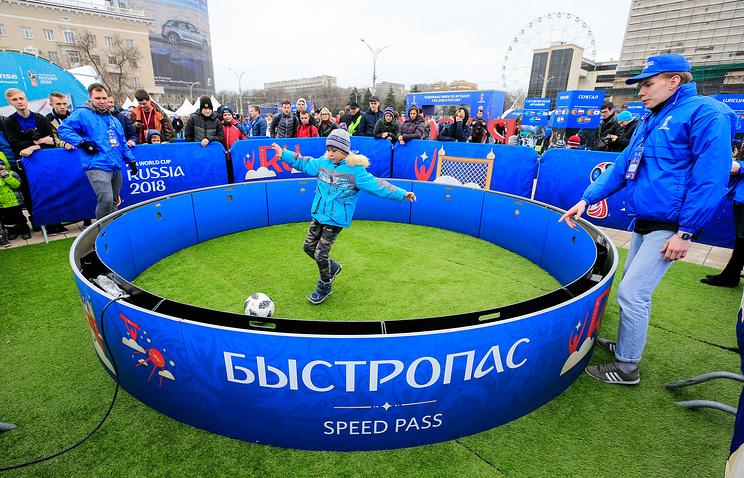 Вэти выходные вРостове-на-Дону откроется передвижной парк футболаЧМ