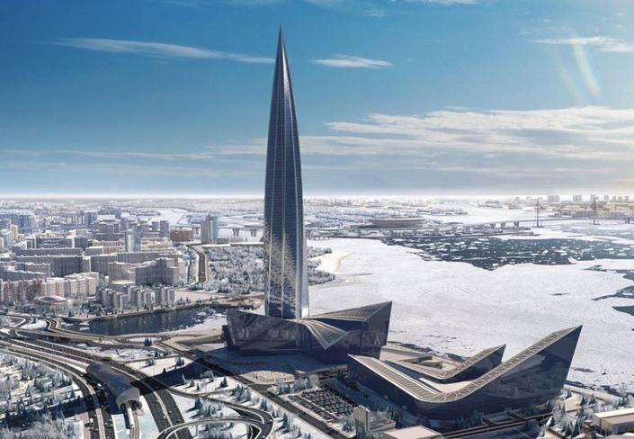 Около «Лахта-центра» будет создан подземный переход слифтами
