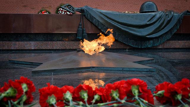 ВАлександровском саду подчеркнули полувековой юбилей бессрочного огня
