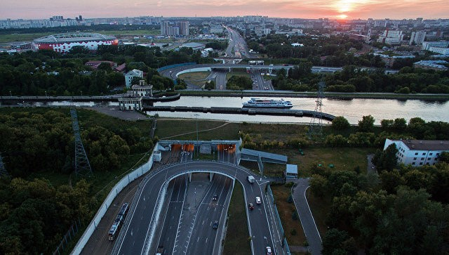 С17июня наВолоколамском шоссе появляется выделенная полоска