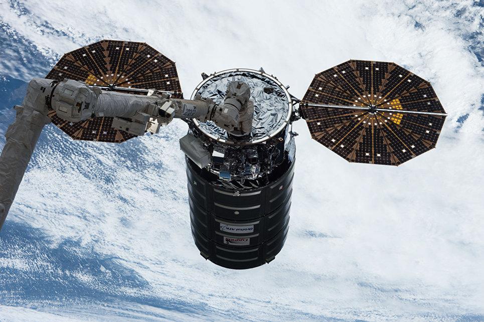 Американский грузовой корабль Cygnus покинет МКС ввоскресенье