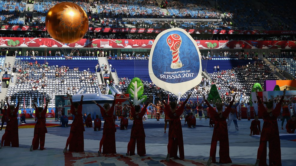 Церемония закрытия Кубка конфедераций состоялась в северной столице