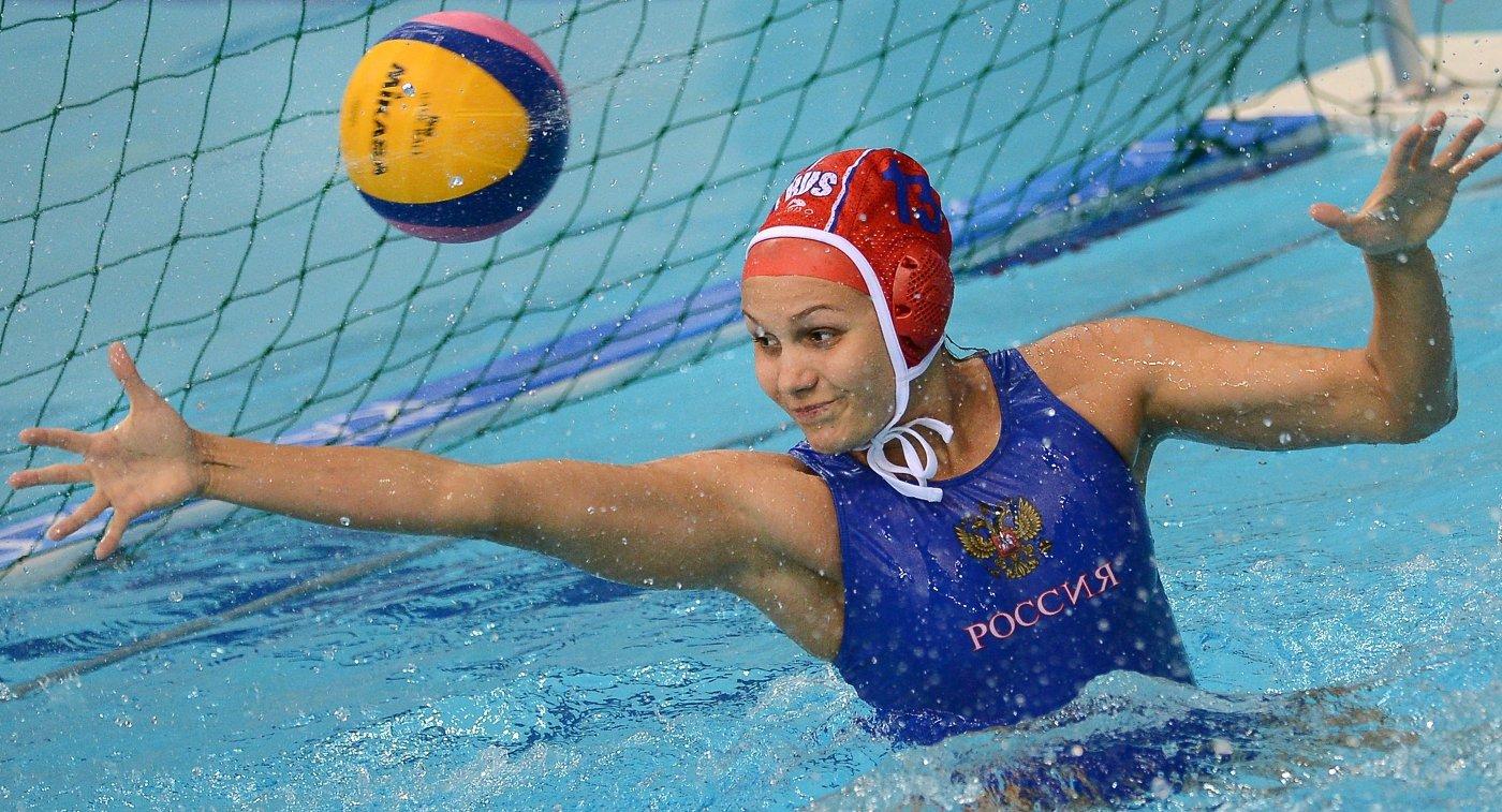 Русские ватерполистки победили команду Греции наЧМ поводным видам спорта