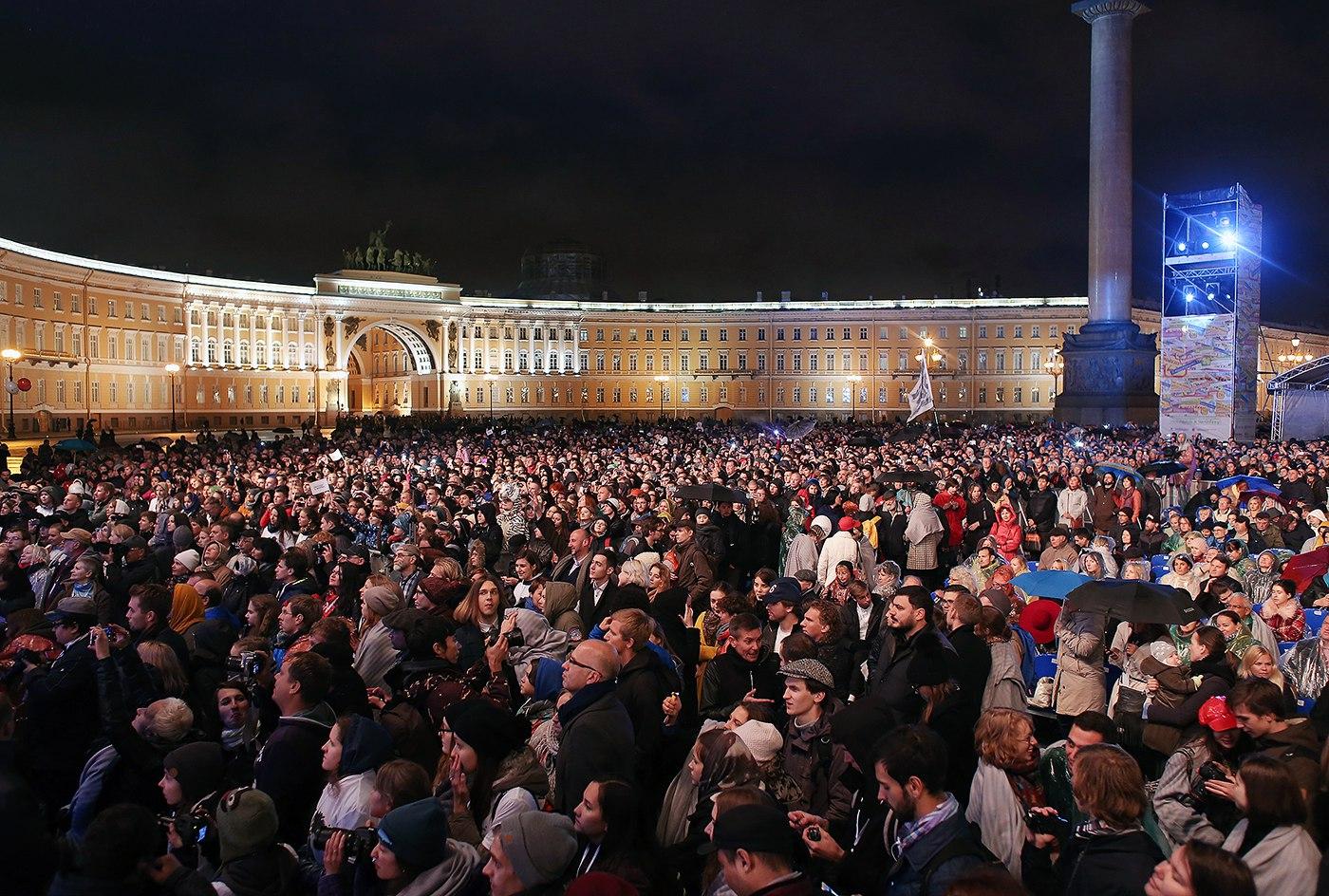 В Санкт-Петербурге на Дворцовой площади откроется Международный кинофестиваль «Послание к человеку»