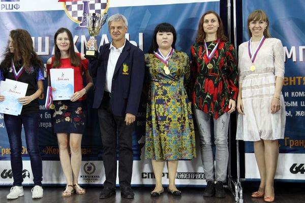 Югорчане одержали победу наЧемпионате РФ поблицу ибыстрым шахматам