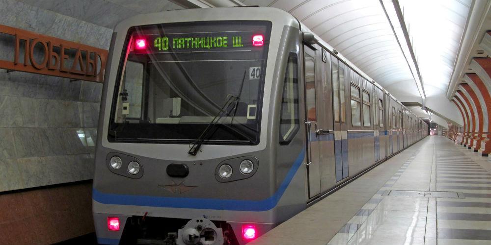 Вновых поездах «Москва» убрали вертикальные поручни