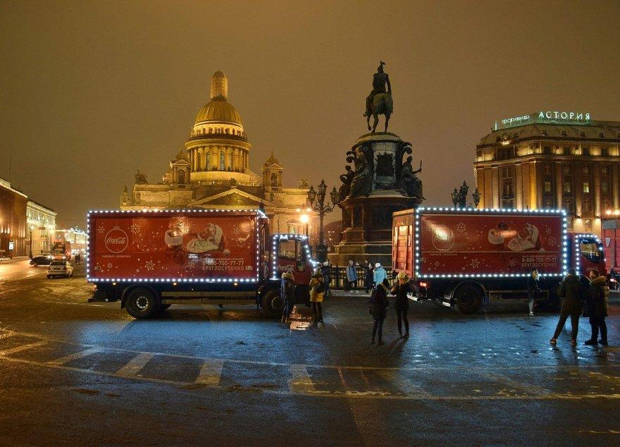 Новогодний караван Coca-Cola приедет вЧелябинск